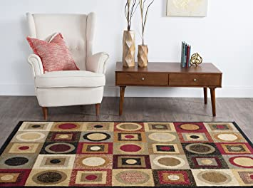 universal rugs multi 8x10 area rug 7feet 6inch by 9