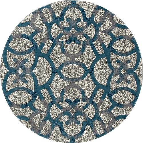 Art Carpet Bastille Collection Trellis Woven Round Area Rug Review