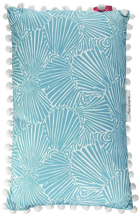 Amazoncom Lilly Pulitzer 161914 Pillow Medium Mermaid Home