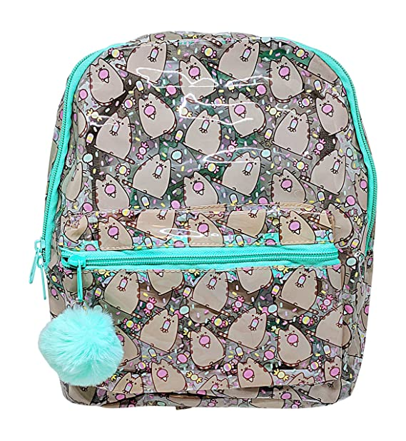 de5757b18f6 Officially Licensed Pusheen Character All Over Popsicle Print PVC Mini  Backpack: Amazon.ca: Clothing & Accessories