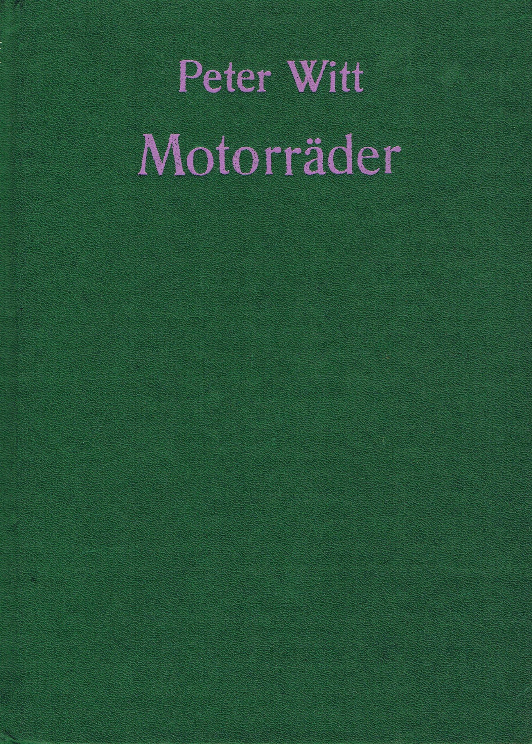Motorräder. Technik - Trends - Modelle