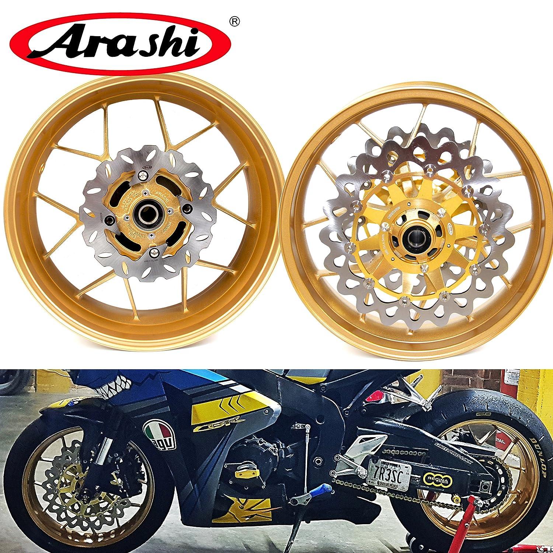 Amazoncom Arashi For Honda Cbr1000rr 2006 2016 Front Rear Wheel
