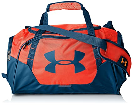 376d220b589 Under Armour Undeniable Duffle 3.0 Gym Bag, After Burn (877)/Static Blue