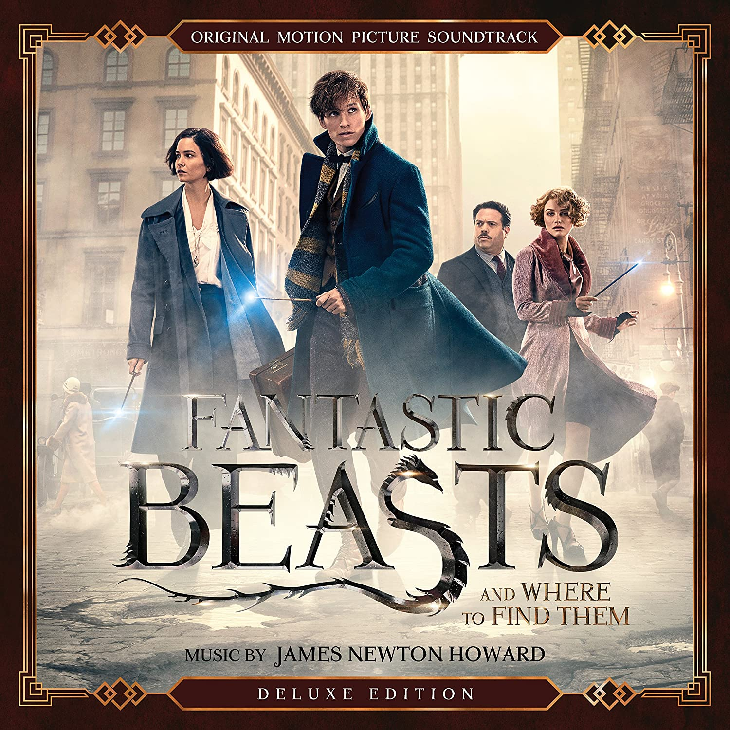 Fantastic Beasts And Where To Find Them Deluxe Edition O S T Fantastic Beasts And Where To Find Them Original Motion Picture Soundtrack Amazon Com Music