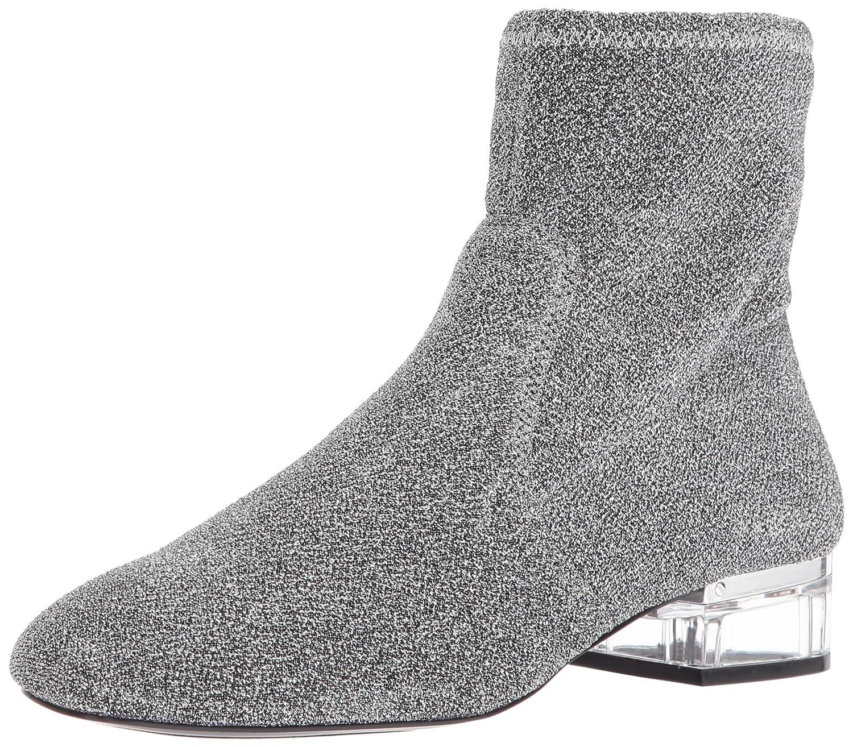 Nine West Women's Urazza Fabric Ankle Boot B01N19XY6Y 11 B(M) US|Pewter