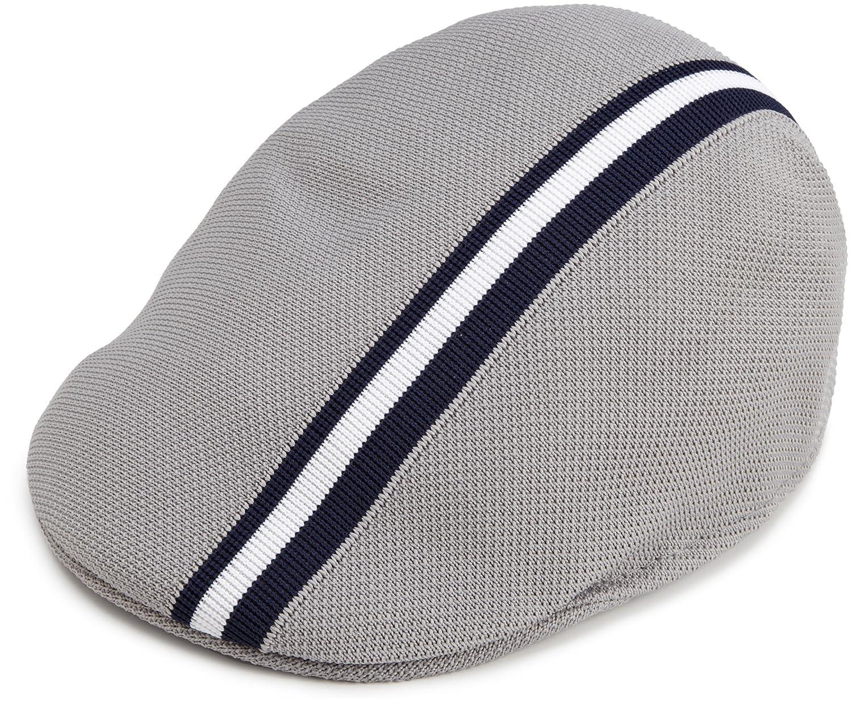 Kangol Polo Stripe 507 Grey Xl at Amazon Men s Clothing store  Newsboy Caps cf6643eb041