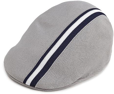 Kangol Polo Stripe 507, Gorra Hombre (XL, Grey)