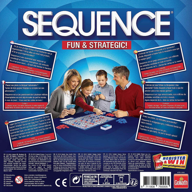 Goliath- Sequence, Multicolor (75000): Amazon.es: Juguetes y juegos