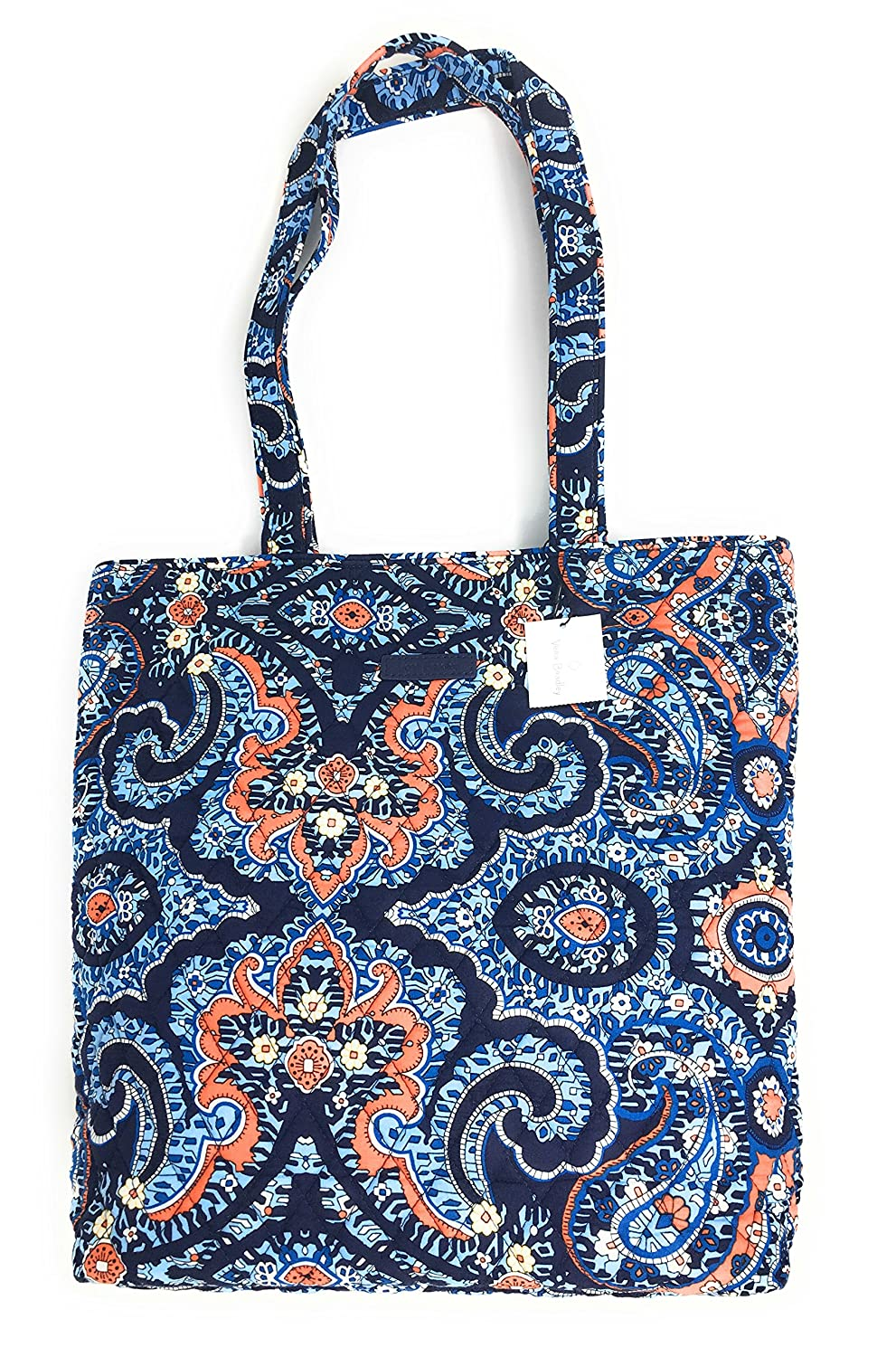 Vera Bradley Tote With Solid Color Interior (Updated Version) (Marrakesh) by Vera Bradley