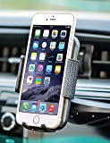 """Bestrix Universal CD Slot Smartphone Car Mount Holder for iPhone 7, 6, 6S Plus 5S, 5C, 5, 4S, 4, Samsung Galaxy S3 S4 S5 S6 S7 S8 Edge/Plus Note 2 3 4 5 LG G3 G4 G5 G6 all smartphones up to 6"""""""