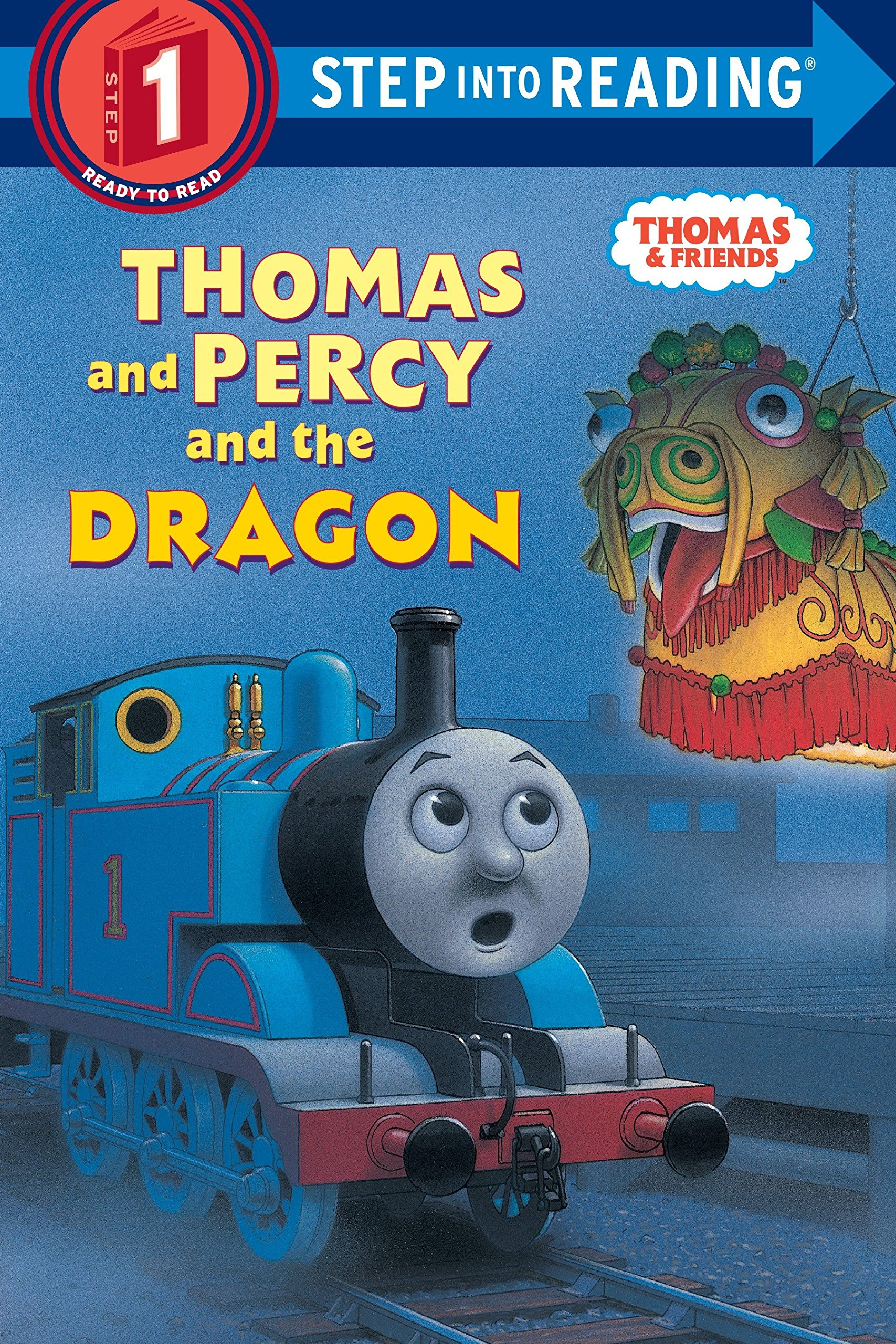 Thomas and Percy and the Dragon (Thomas & Friends) (Step into Reading) Paperback – June 24, 2003 Rev. W. Awdry Richard Courtney 0375822305 Readers - Beginner
