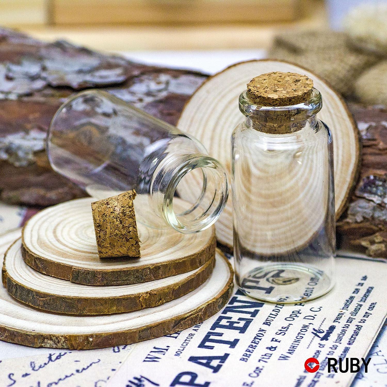 Fläschchen für Gastgeschenke mit Korken