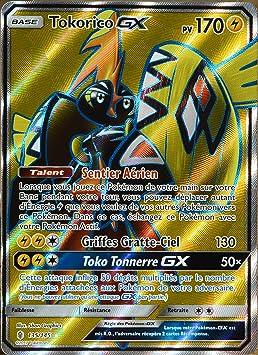 Carte Pokémon 135 145 Tokorico Gx 170 Pv Full Art Amazon