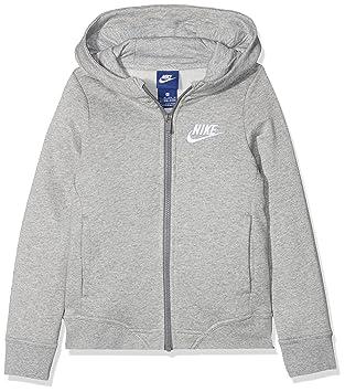 Nike G NSW Hoodie FZ Club Sudadera, Niñas: Amazon.es: Deportes y aire libre