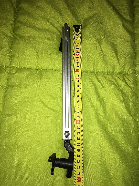 Compas Bras fen/être polyplastic Gauche Click Clack avec Manette de Blocage Automatique