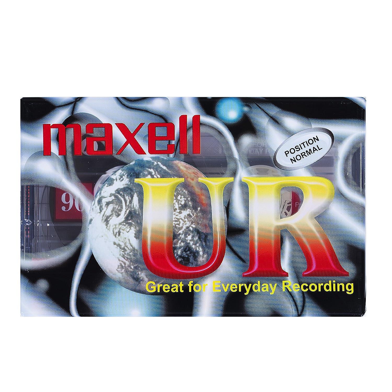Maxell MAX-UR90P5 - Cinta de audio/video, Pack de 5: Amazon.es ...