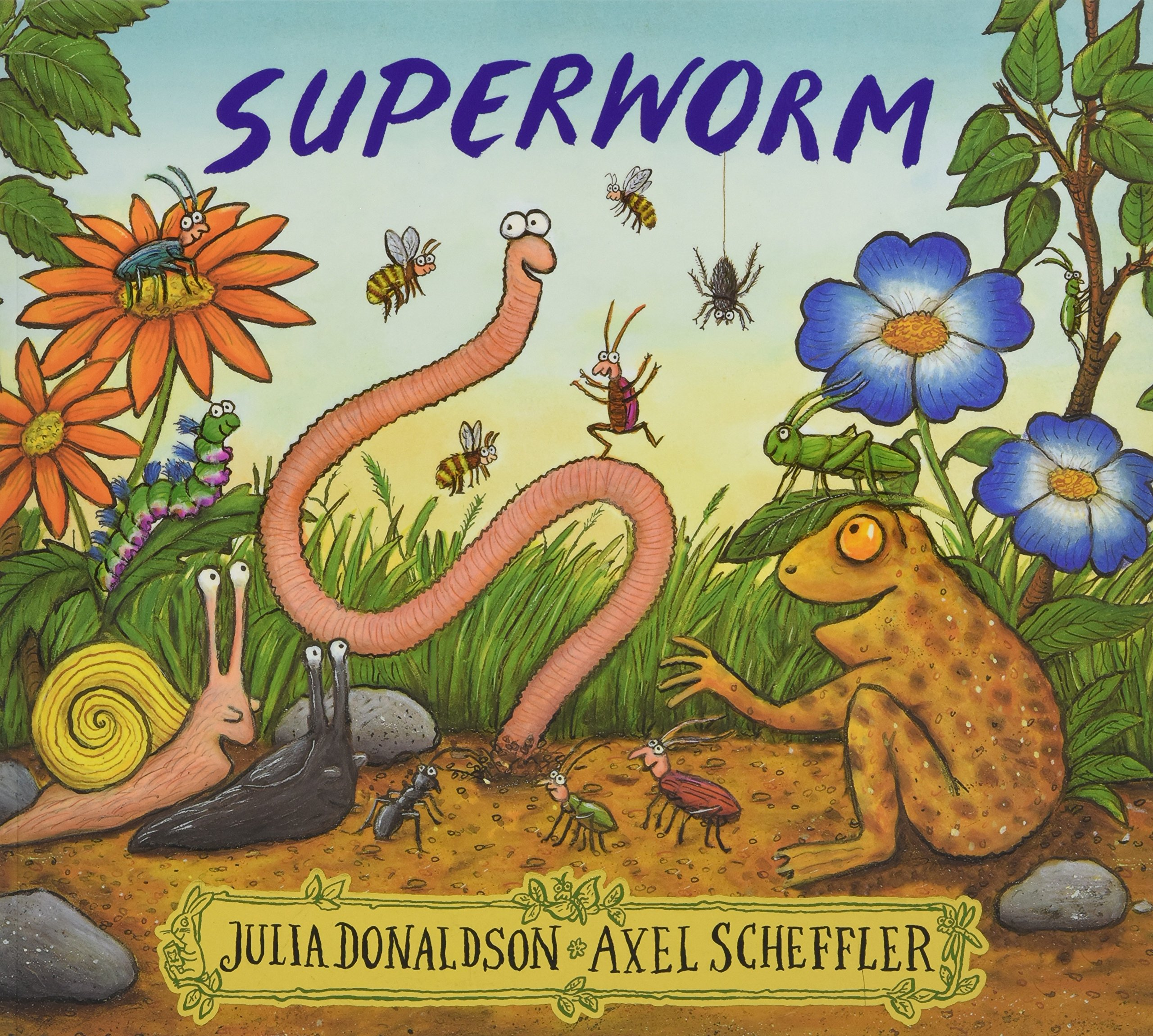 Superworm (Anglais) Broché – 7 juillet 2016 Julia Donaldson Axel Scheffler Alison Green Books 1407170724