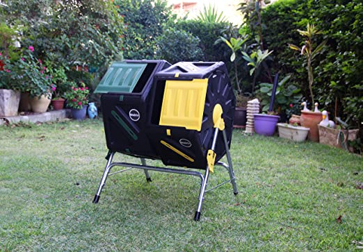 Miracle Gro DC270MG - 2 cestos de reciclaje de compuestos ...
