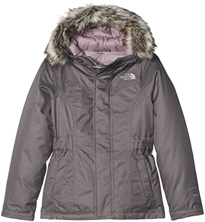 The North Face - Chaqueta Greenland para niña, niña, Color Gris, tamaño FR