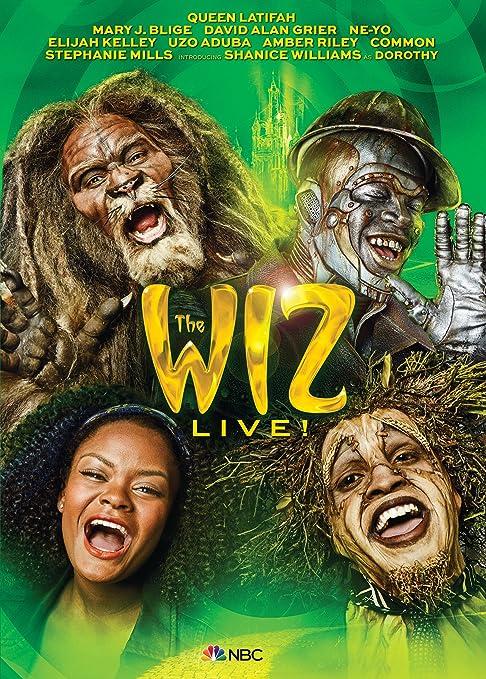 Amazon.com: The Wiz Live!: Shanice Williams, Queen Latifah, Mary J. Blige, David Alan Grier, Uzo Aduba, Amber Riley, Stephanie Mills, Kenny Leon, ...