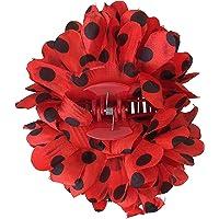 La Señorita Flores Flamenco Rojo con Puntos Negro