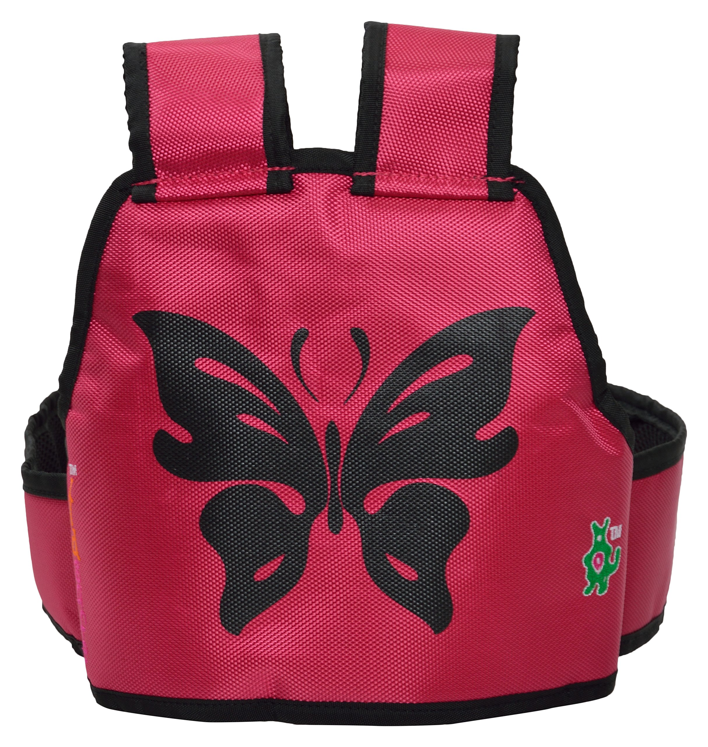 Kidsafe Belt - Two Wheeler Child Safety Belt - Cool Pink Butterfly by Kid-Safe (Image #4)