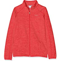 Columbia Wilderness Way Fleece Jacket Chaqueta Polar, Unisex Niños, Rojo, Talla XXS