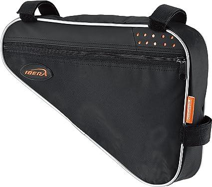 Ibera(イベラ)フレームバッグ 自転車 トライアングル型バッグ