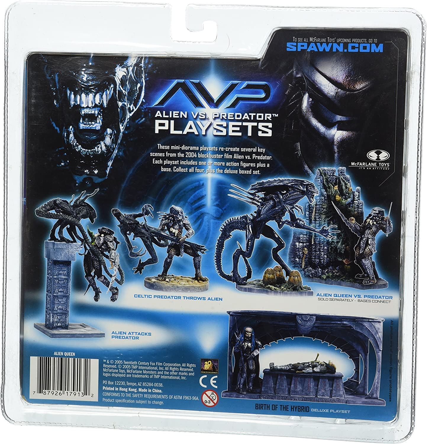 McFarlane Toys AVP Alien VS. Predator Movie Series 2 Action Figure Alien Queen: Amazon.es: Juguetes y juegos