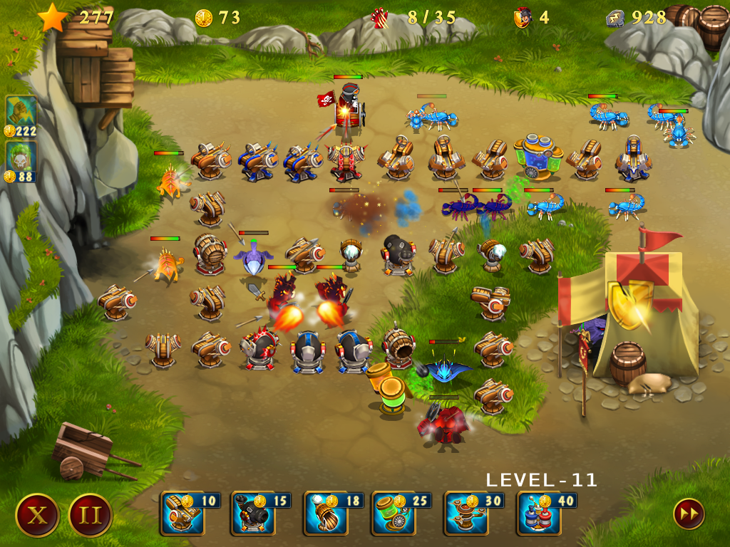 Rome Defenders - The First Wave (multilingual) [Download]