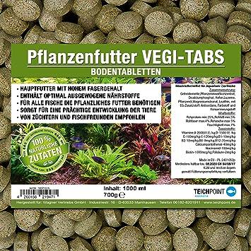 vegi Planta Tabs Premium de forro suelo pastillas (Forro Principal para todas las Plantas y