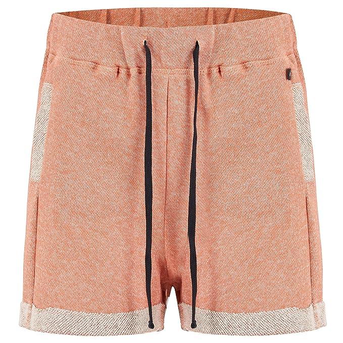 Pantalón Corto Mujer Animal Shortee Terracotta Rojo Marl (Eu 38 ...