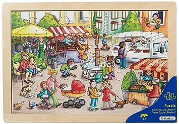 Con es Puzzle Beleduc 12002 Marco Mercado 24 PiezasAmazon QxtrdsCBoh