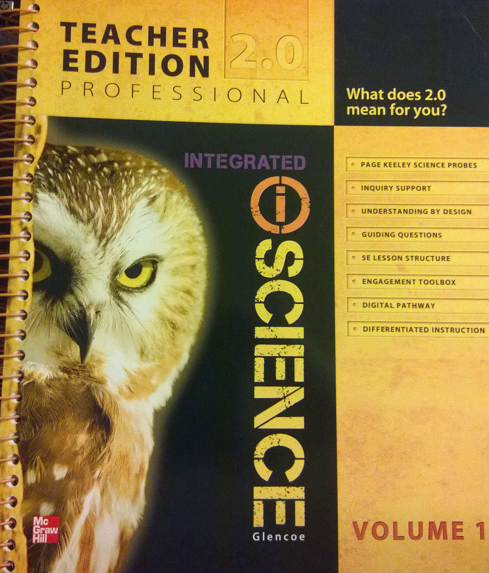 Glencoe integrated iscience course 3 grade 8 vol 1 teacher glencoe integrated iscience course 3 grade 8 vol 1 teacher edition glencoe 9780078881060 amazon books fandeluxe Choice Image