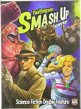 Smash Up: Science Fiction Double Feature Card Game Expansion: Amazon.es: Juguetes y juegos