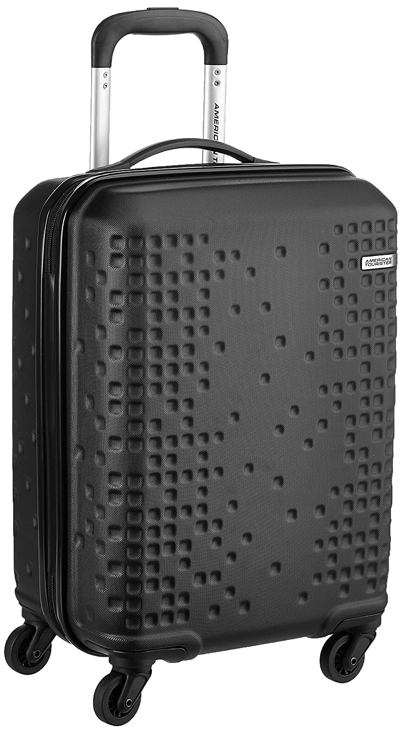 American Tourister Cruze ABS 55 Cms Black Hardsided Carry-On