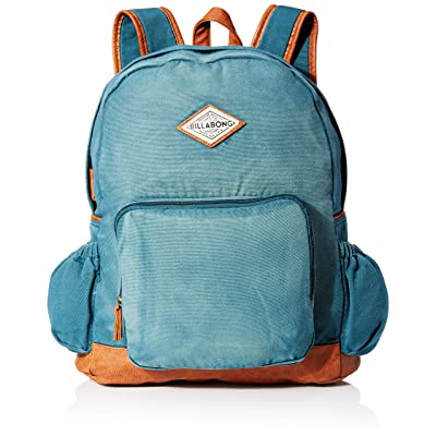 School Smart Dual Pocket Nylon Backpack with Multiple Compartments ... f82f2daa3e657