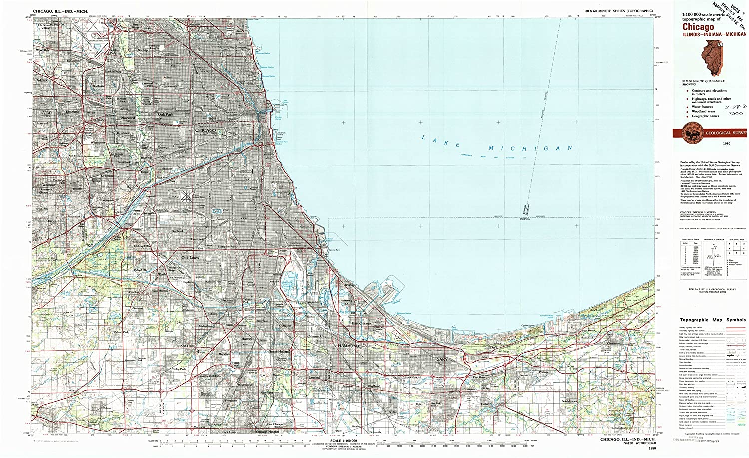 Amazon.com : YellowMaps Chicago IL topo map, 1:100000 Scale, 30 X 60 on ohio map, arc map, skin map, wisc map, au map, illi map, will map, disease map, undernourished map, anger map, aged map, hungry map, il map, save map, ark map, yser map, green map, ind map, chicago map, indiana map,