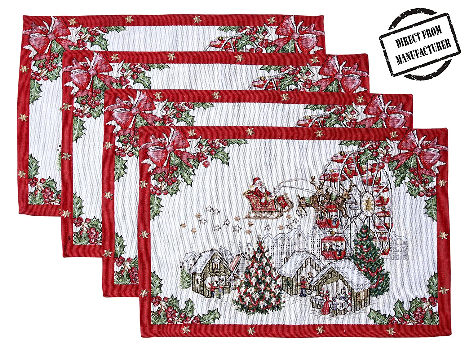 Christmas Holiday Place mat