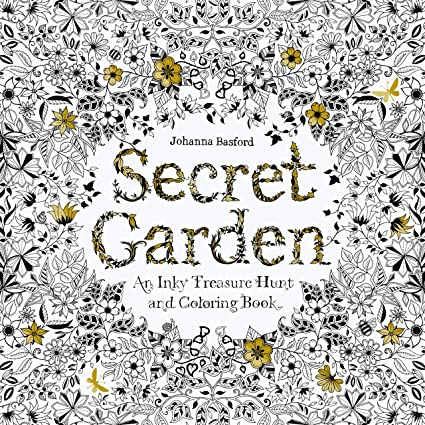- Amazon.com: GOTICAL Secret Garden Coloring Book For Adults Treasure  Hunt Coloring Book For Stress Dismissing Flower & Leaf Designs Coloring  For Adults - 96 Pages: Toys & Games