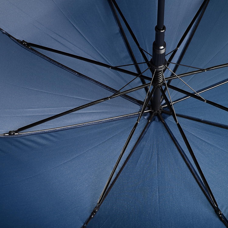 b95d612c25 BOLERO OMBRELLI - Ombrello da Pioggia Lungo classico Antivento e Automatico  - apertura Automatica per permetterne ingrandisci
