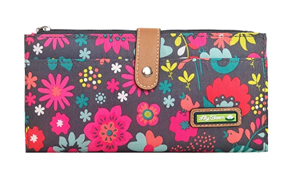 8fde34c4b247 Image Unavailable. Image not available for. Color  Lily Bloom Playful  Garden Liza Wallet