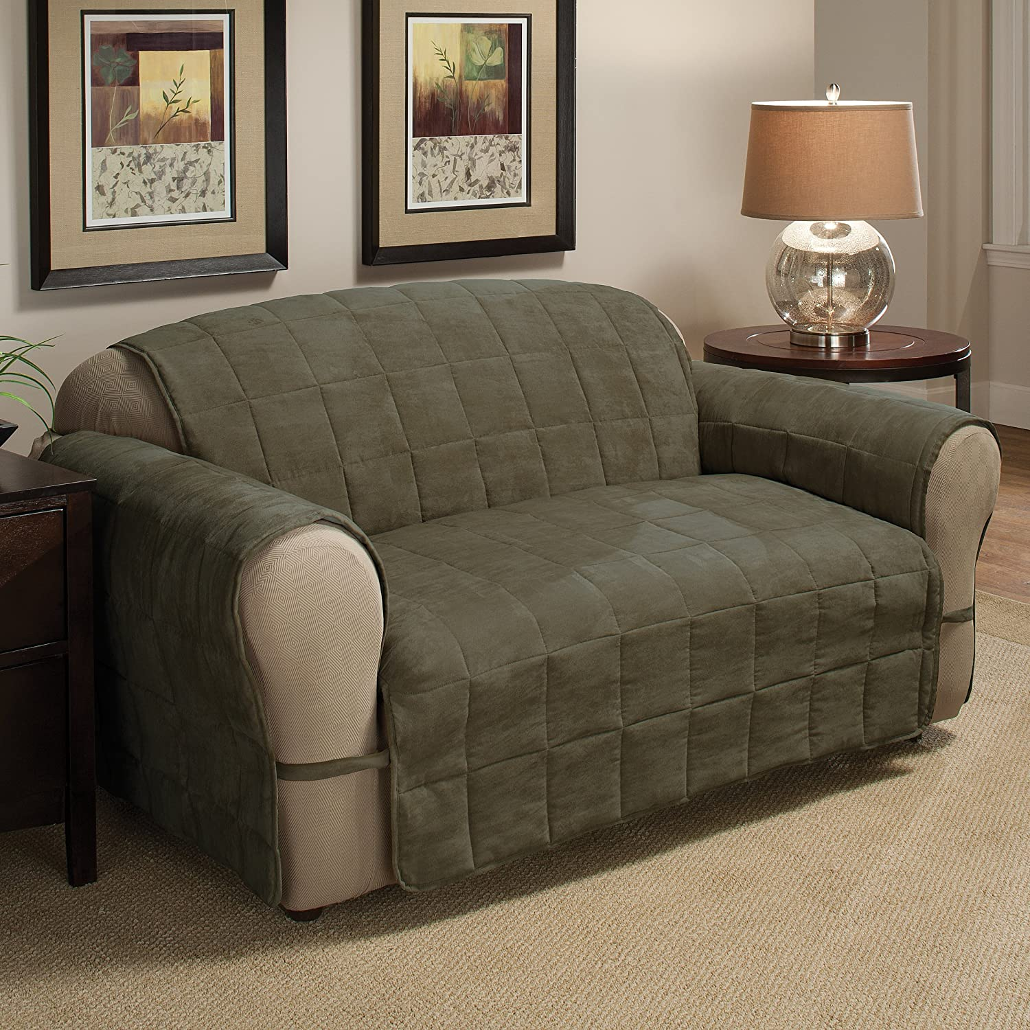 Innovative Textile Solutions Ultimate Sofa Protector X-Large Sage