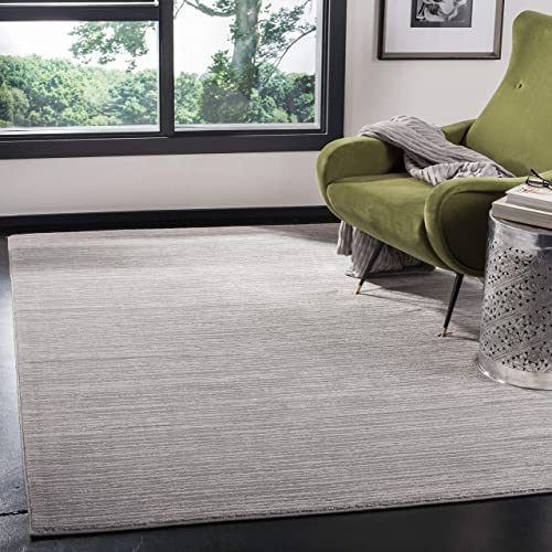 Safavieh Vision Collection VSN606G Modern Contemporary Ombre Tonal Chic Area Rug, 10 x 14 , Silver