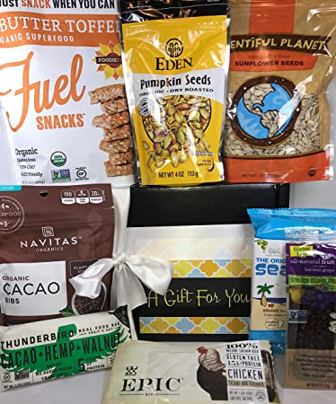 Amazon paleo gift box basket over 2 pounds of healthful paleo gift box basket over 2 pounds of healthful snacking for birthday negle