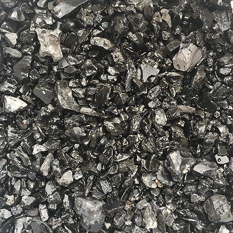 Gravier décoratif 5/16 mm, noir/anthracite arrondie, décoration pour ...