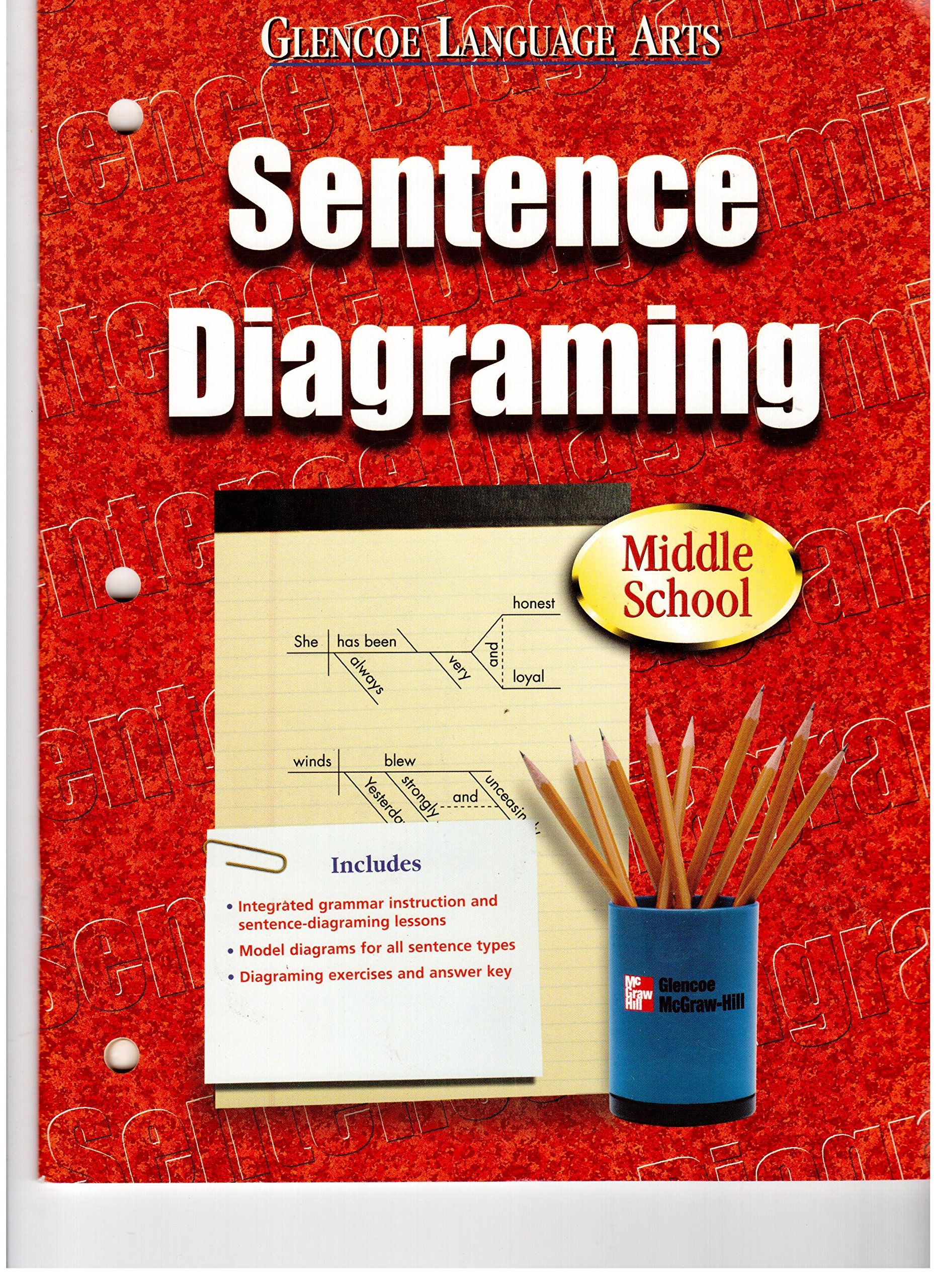 Glencoe language arts grades 6 8 sentence diagraming blackline glencoe language arts grades 6 8 sentence diagraming blackline masters mcgraw hill 9780078247026 amazon books ccuart Choice Image