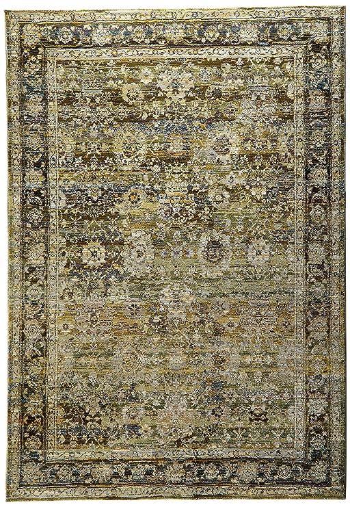 Amazon.com: Oriental Weavers Andorra 7125 C Interior área ...
