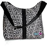 Designer|Diaper Bag|Changing Pad And Adjustable Shoulder Strap Cute Design washable