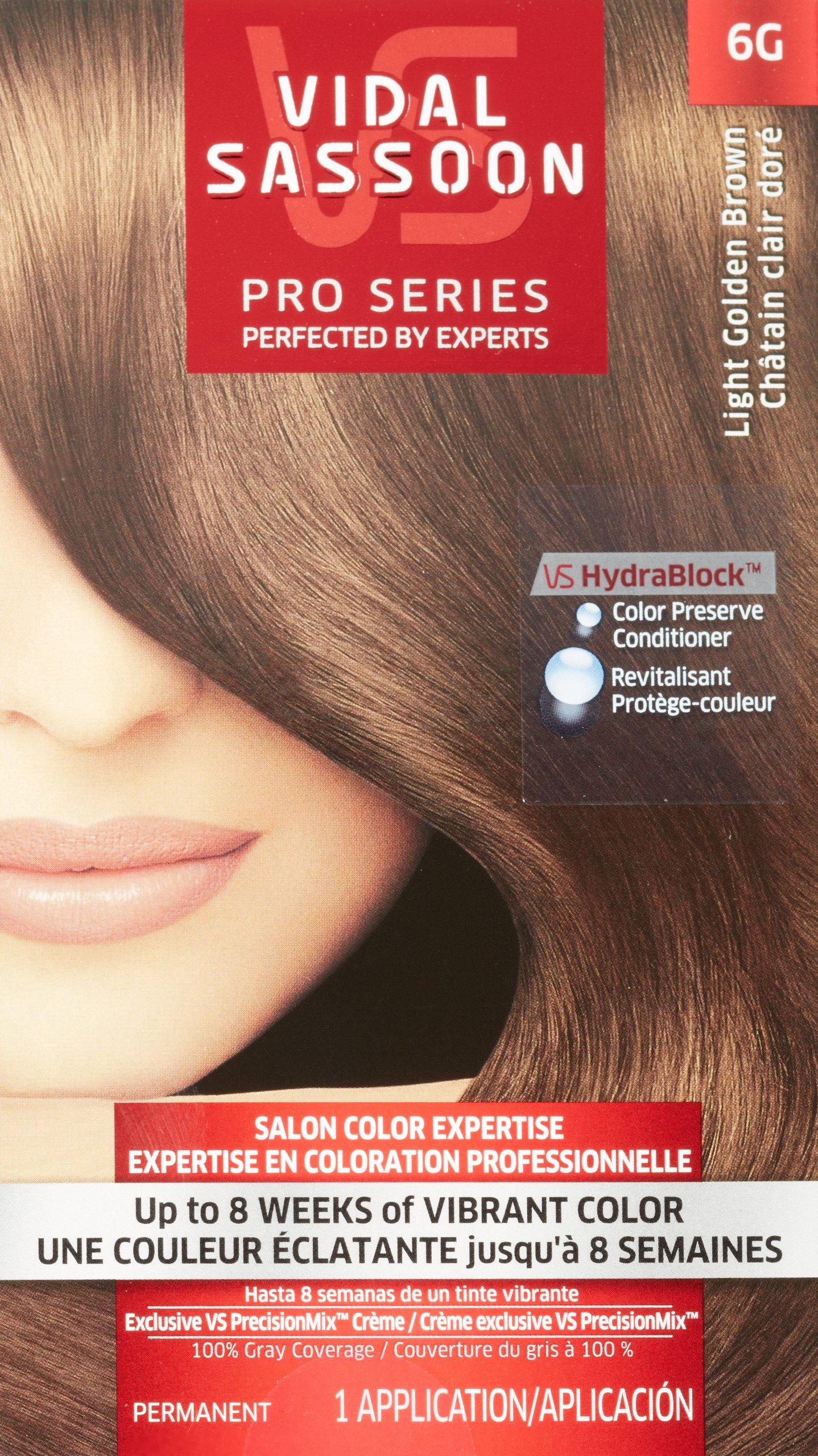 Amazon Vidal Sassoon Pro Series Hair Color 6 12 Lightest